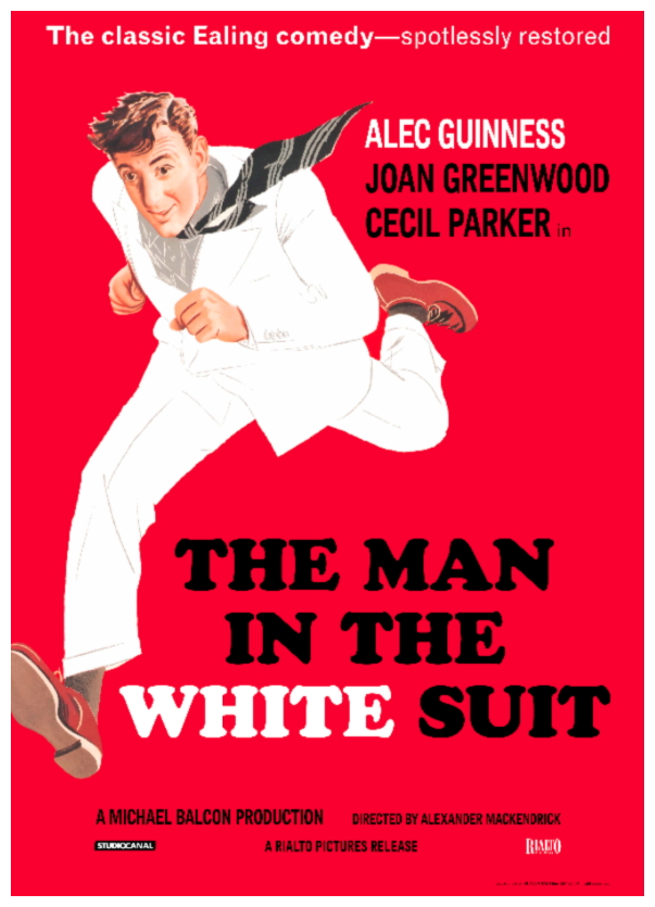 Man In The White Suit poster