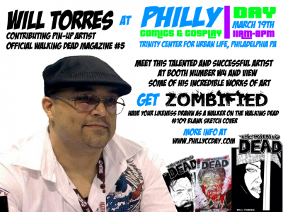 WILL TORRES APPEARANCE FLYER