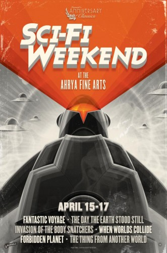2016_04_05 - Sci-Fi Weekend at the Ahrya Fine Arts in Los Angeles