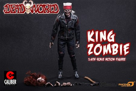 King Zombie Action Figure Accessories