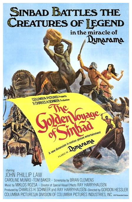 Golden Voyage Of Sinbad poster