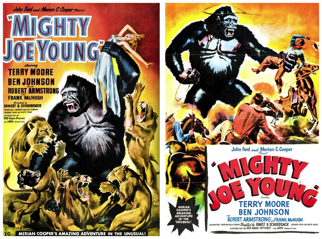 Mighty Joe Young posters 1