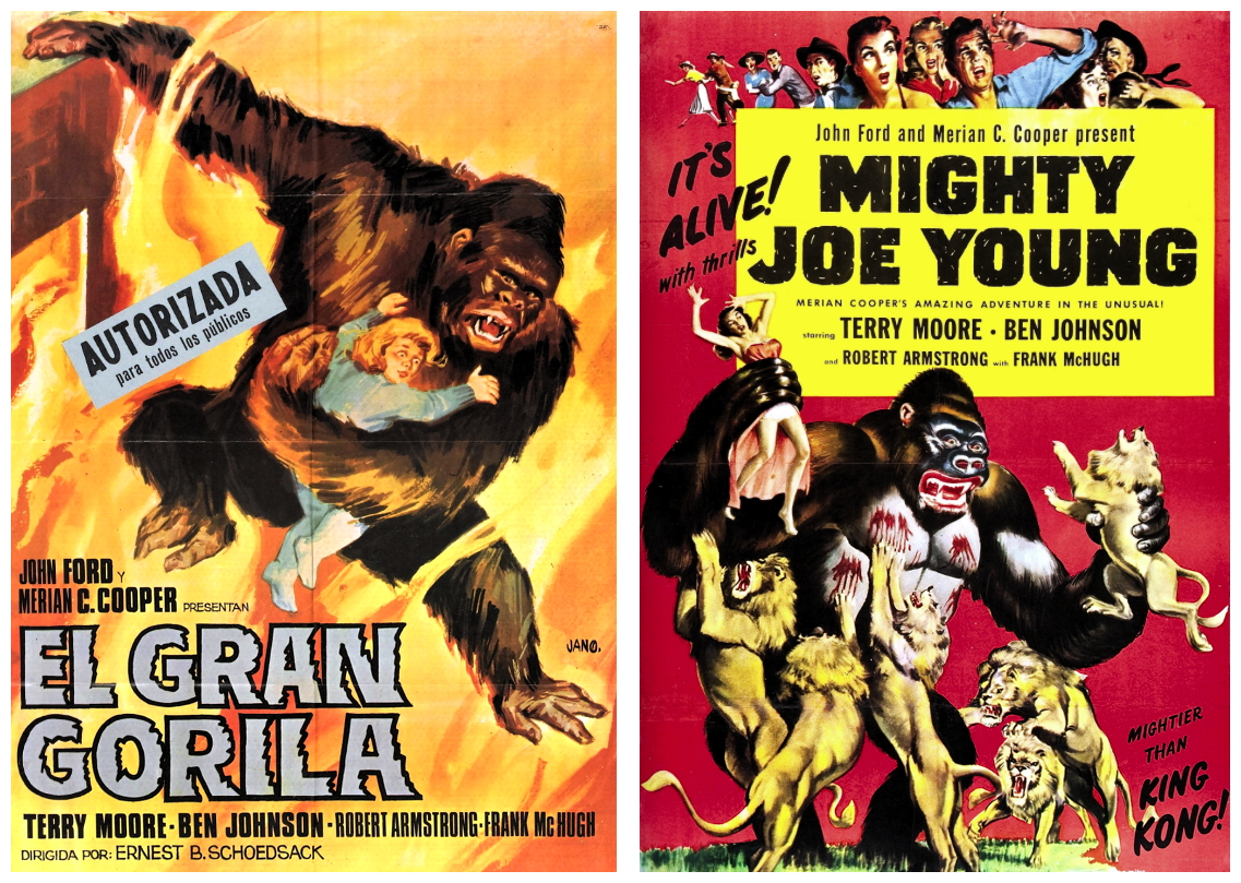 Mighty Joe Young posters 2