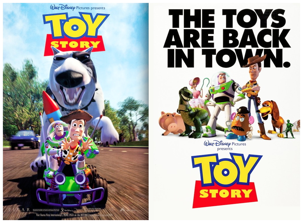 1995 Movie Posters: Film Review: Toy Story (1995)