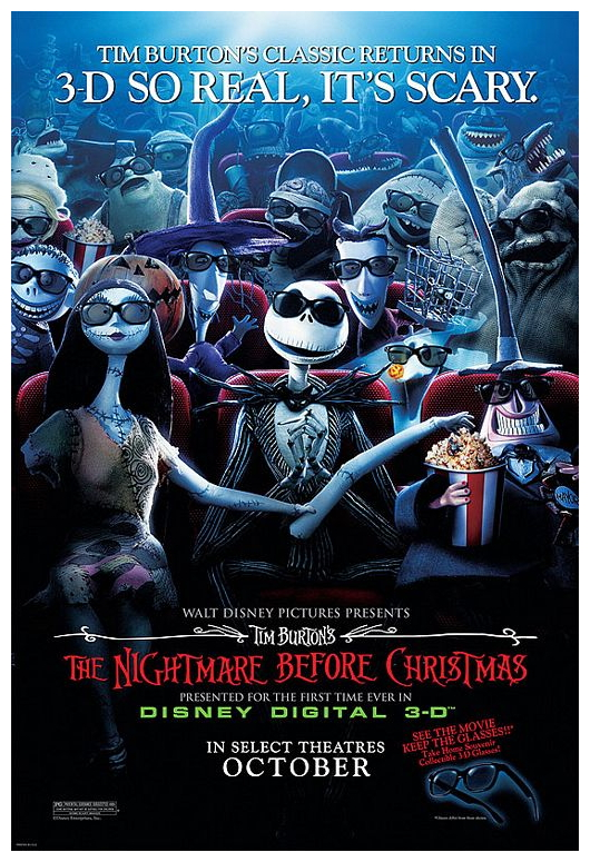nightmare before christmas poster 1 - The Nightmare Before Christmas Poster