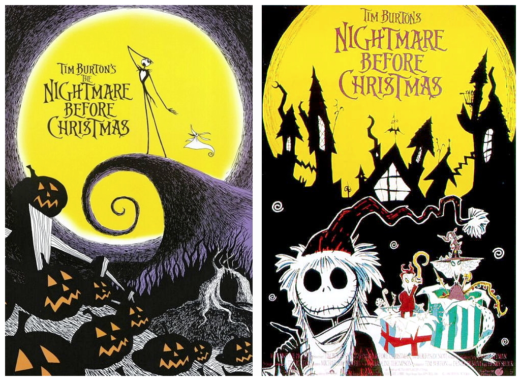 nightmare before christmas posters 3 - Tim Burtons The Nightmare Before Christmas
