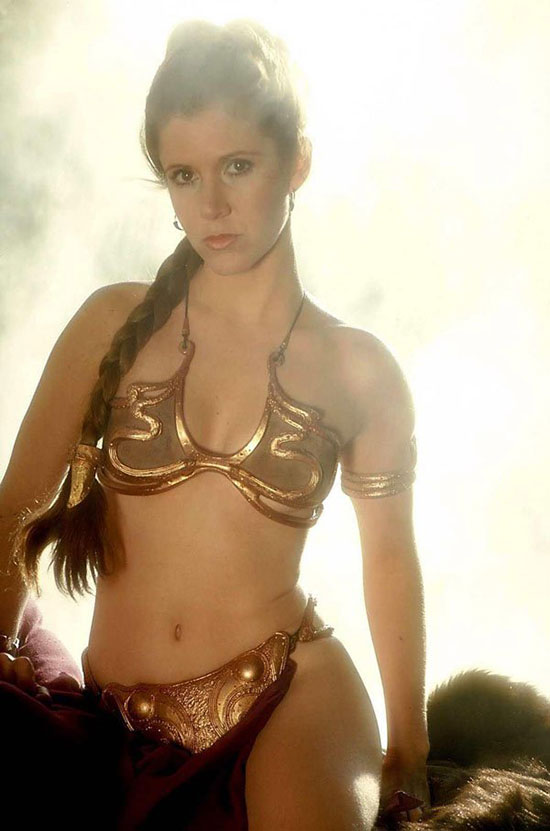 Carrie Fisher Hottest Sexiest Photo Collection  Hnn-5395