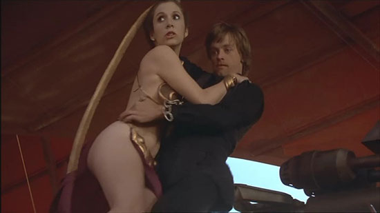 carrie fisher bikini porno