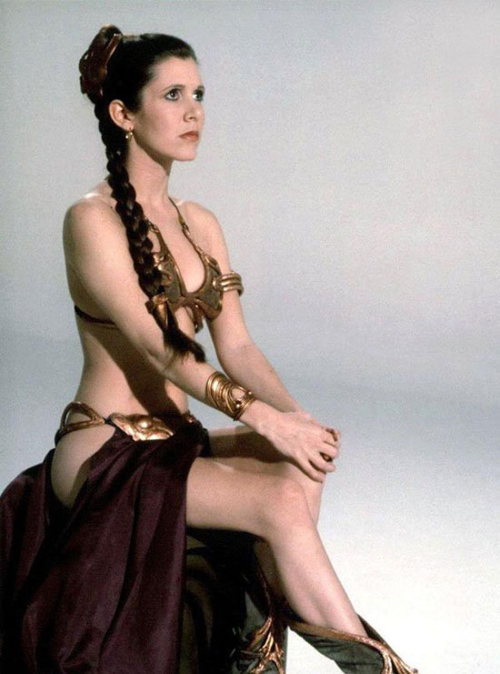 Carrie Fisher Hottest Sexiest Photo Collection  Hnn-8850