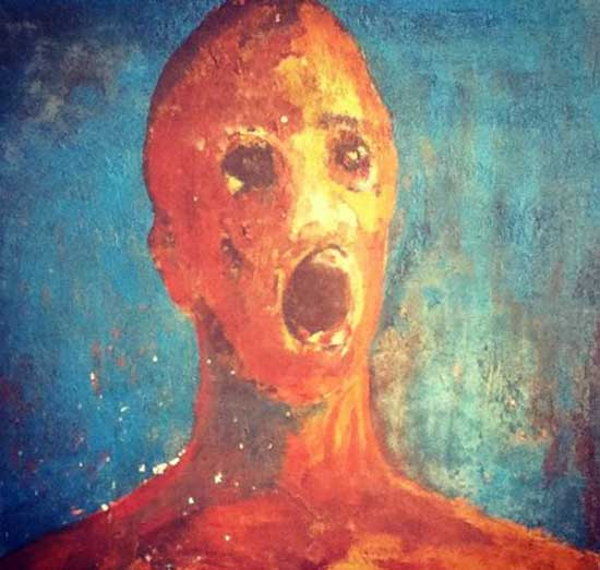 The Anguished Man: A Look into the World's Most Haunted Painting | HNN