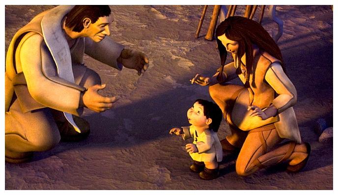ice age movie humans