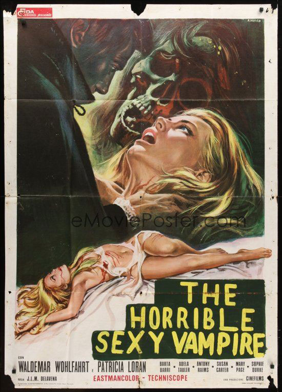 Top 1970S Hottest Sexiest Horror Movie Posters  Hnn-9446