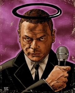 The Black Saint - Avatar - Gruesome Magazine