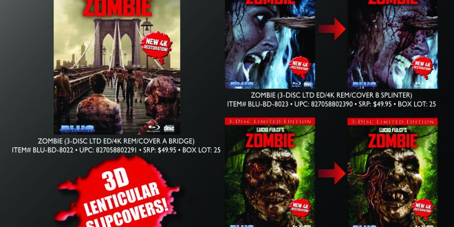 ZOMBIE 40th Anniversary Limited Edition, New 4K Restoration