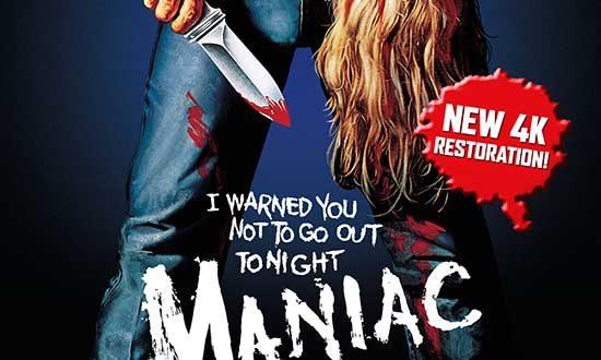 MANIAC 3 Disc Limited Edition – New 4K Restoration