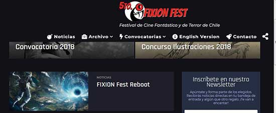 News on Santiago de Chile Horror Film Festival