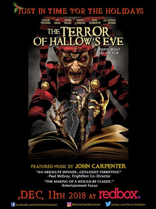 Innovative Horror Feature Todd Tuckers The Terror Of Hallows Eve