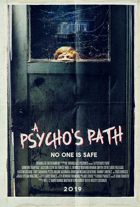 A Psycho's Path - New Horror Film in the Slasher sub-genre