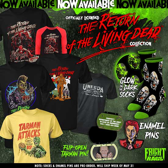 It's Party Time with Fright-Rags's RETURN OF THE LIVING DEAD
