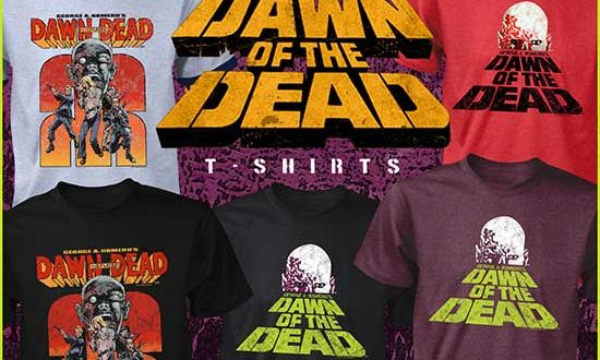 It's Party Time with Fright-Rags's RETURN OF THE LIVING DEAD & DAWN OF THE DEAD Apparel