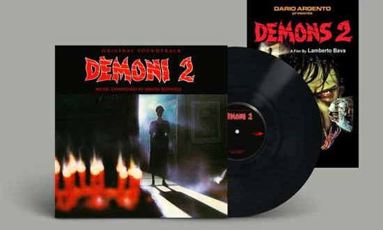 DEMONI 2 Soundtrack! by Simon Boswell VINYL & CD