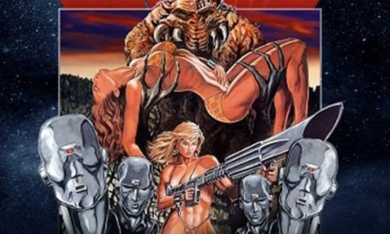Full Moon's Sexy Sci-Fi Classic SLAVE GIRLS FROM BEYOND INFINITY Comes to Blu-ray!