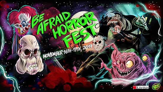BE AFRAID HORROR FILM FESTIVAL to be held in ITALY