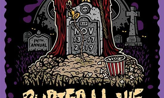 Buried Alive Film Festival 2019 Call for Submissions and Artwork Release