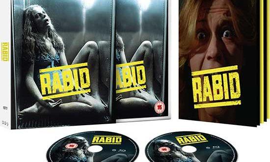 David Cronenberg's RABID (26 Aug) & lost 90s horror SKINNER (23 Sept) head to UK Blu-ray from 101 Films Black Label