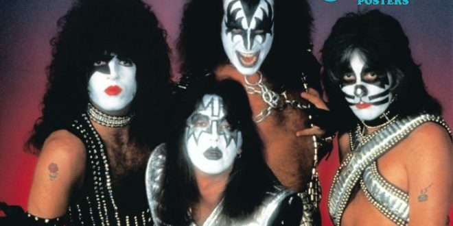 The Official KISS Poster Book #2 Giveaway