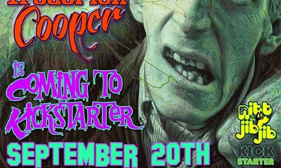 Horror Funding: Frederick Cooper horror art book releasing on Kickstarter Sept. 20th