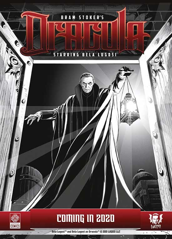 Bela Lugosi to Star in 'Bram Stoker's DRACULA' Graphic Novel from Legendary Comics – Jimmy Star's World
