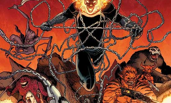 All Hells Break Loose in a limited-time Digital Director's Cut of GHOST RIDER #1!