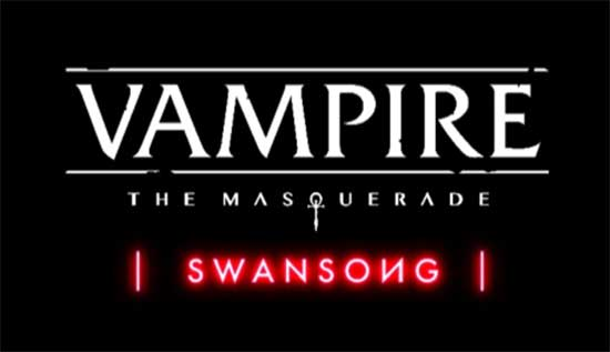 Vampire: The Masquerade – Swansong – Announced at PDXCoN