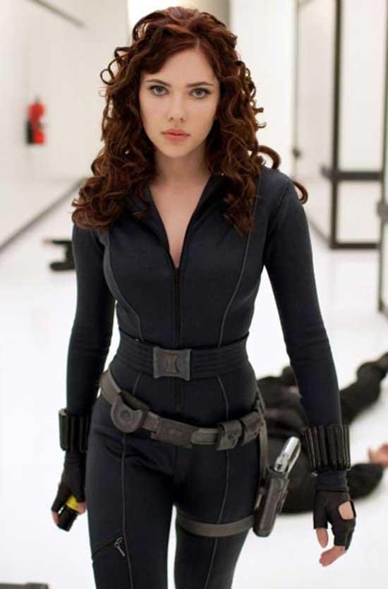 Johansson sexy scarlett 50 Sexy