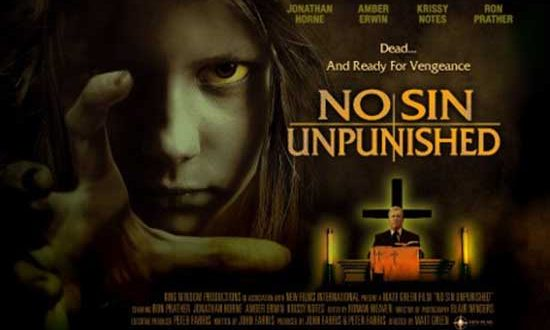 No Sin Unpunished DVD release from legendary horror novelist John Farris