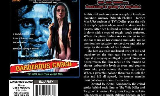 Mondo Macabro's DANGEROUS CARGO Street Dates