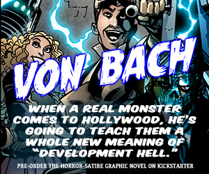 "Critically Acclaimed Horror-Satire Play ""Von Bach"" Being Turned Into a Graphic Novel Book To Be Financed Through Kickstarter"