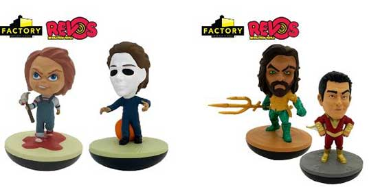 Static Vinyl Figures Are Boring! They Need A REVO™-lution! See How With Factory Entertainment At New York Toy Fair