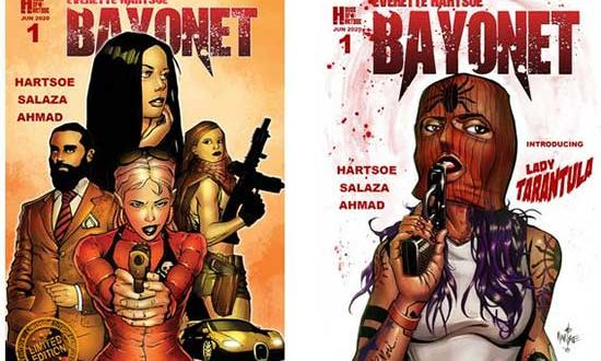 EVERETTE HARTSOE'S 'BAYONET' launches under 'RAZORVERSE' banner