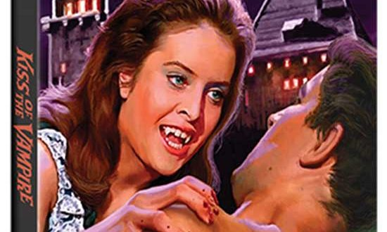 Scream Factory Home Ent. | THE KISS OF THE VAMPIRE COLLECTOR'S EDITION Blu-ray arrives July 14