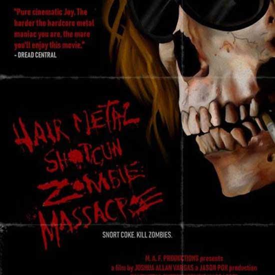Hairmetal Shotgun Zombie Massacre Theatrical Drive In Virtual