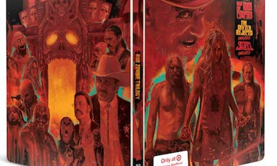 Lionsgate Announce: Rob Zombie Trilogy Steelbook Blu-ray arrives 9/8
