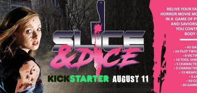 "Ultimate Horror Board Game ""Slice & Dice"" Available for Pre-Order August 11th"