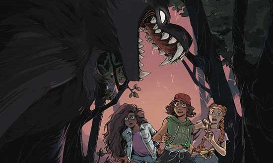 Goosebumps: Secrets of the Swamp' From IDW Publishing and Marieke Nijkamp