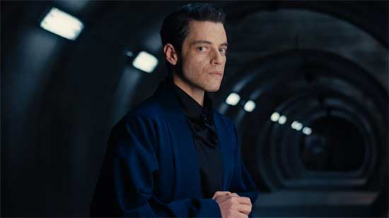 NO TIME TO DIE – Meet Safin, played by Rami Malek