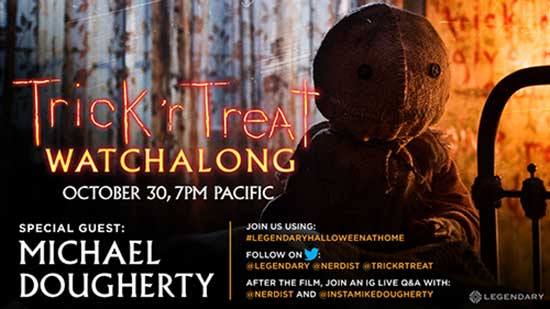 TRICK 'R TREAT Director Michael Dougherty Hosts Special Watchalong, Tomorrow Oct 30