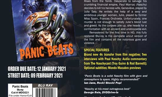 PANIC BEATS – February 2021 Release  – A shocking tale of vengeance from beyond the grave!