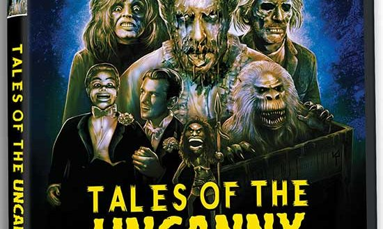 TALES OF THE UNCANNY, plus the ultra-rare features EERIE TALES & HISTORIES EXTRAORDINAIRE.