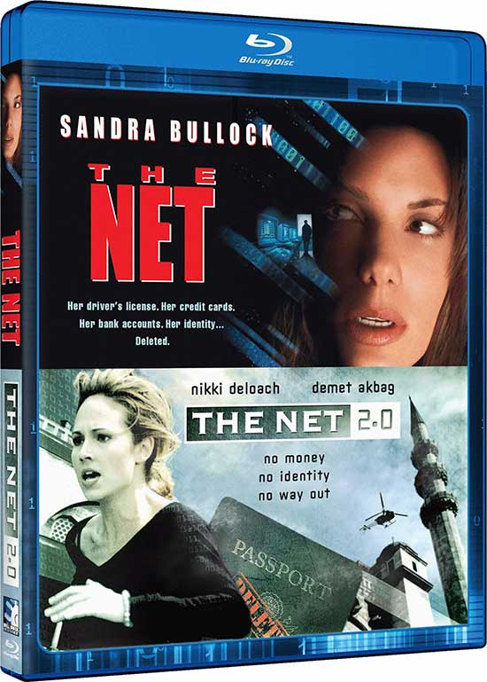 The-Net 1995 blu-ray Movie-Mill-Creek-Entertainment